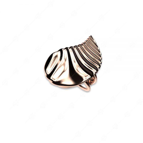 Δαχτυλίδι δάκρυ ασήμι 925