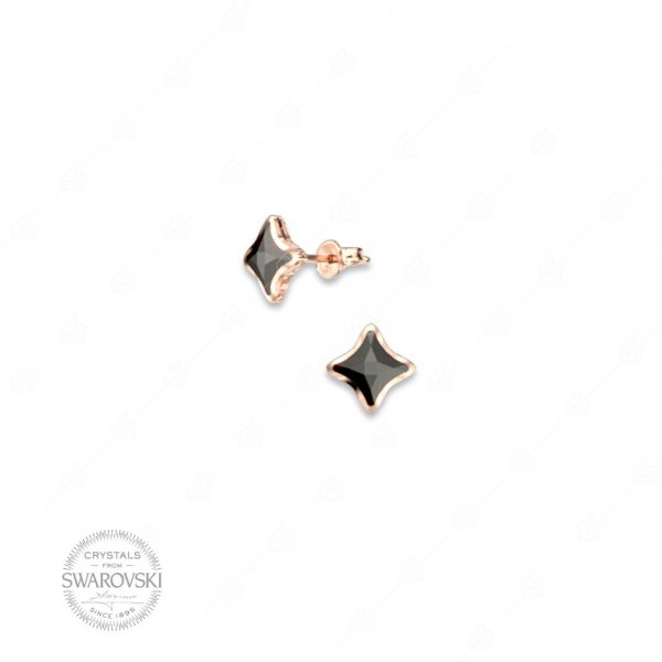 Σκουλαρίκια ασήμι 925 με Swarovski