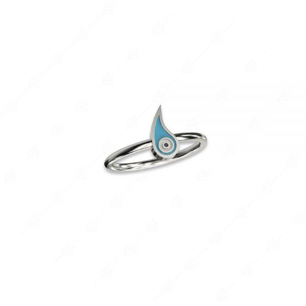 Δαχτυλίδι με λαχούρι ασήμι 925