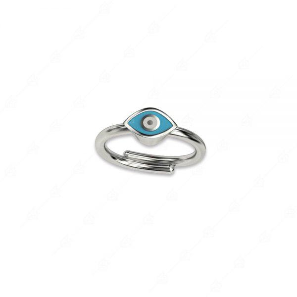 Δαχτυλίδι ματάκι ασήμι 925