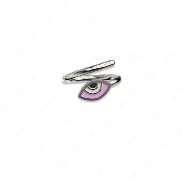 Δαχτυλίδι μάτι ασήμι 925