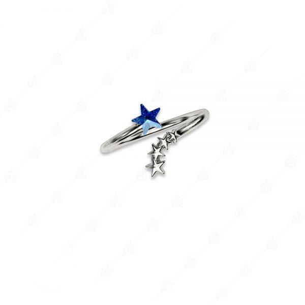 Δαχτυλίδι αστεράκι ασήμι 925